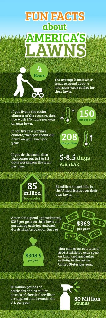 Americans Spend $308 Billion Each Year on Lawn Care